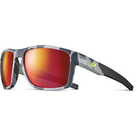 Julbo Stream Polarized 3 Gafas de sol Hombre, grey/yellow/multilayer red